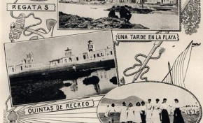 Así se publicitaba la playa de Las Canteras a principios del siglo pasado