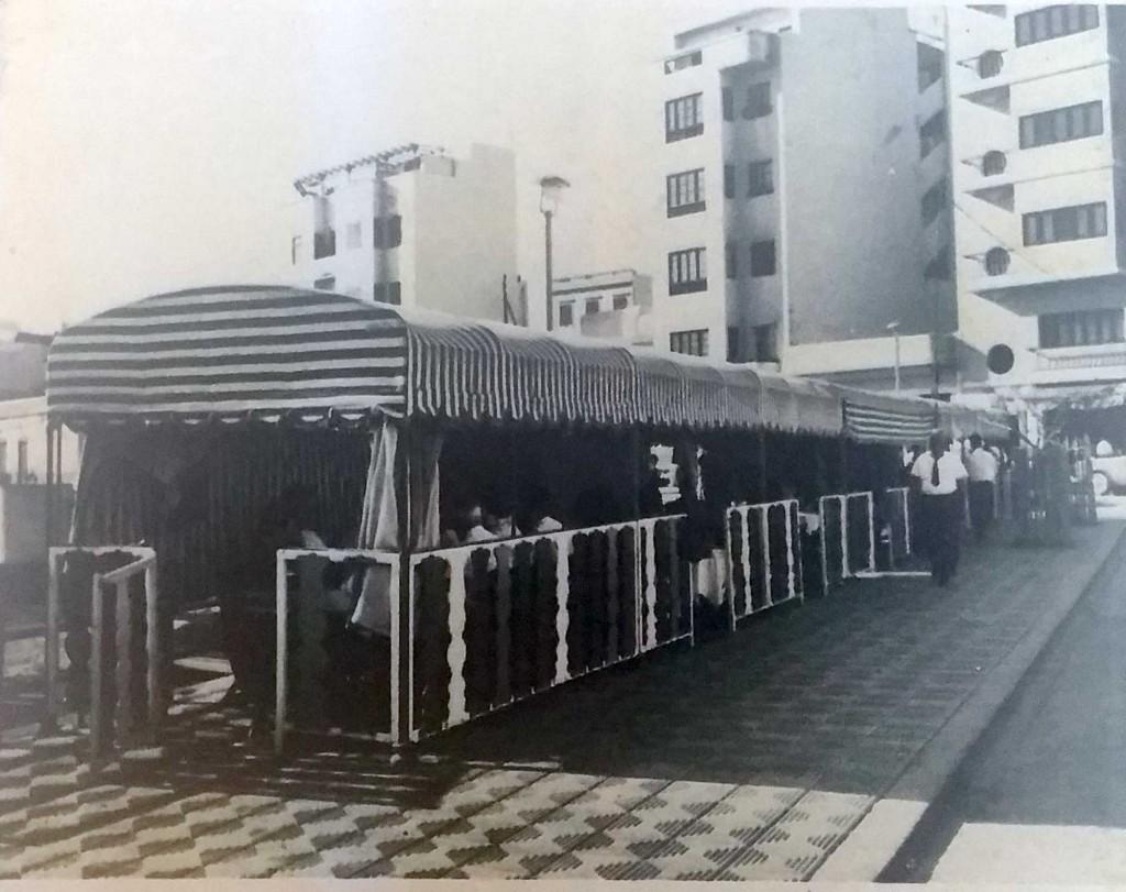 El tren del restaurante Juan Pérez