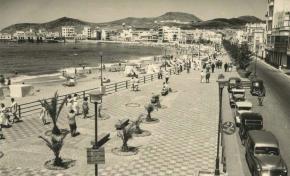 La Calle Sagasta en 1956