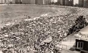 Un domingo de verano, década de los 80