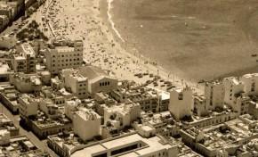Vista aérea de La Puntilla en la década de los años 60