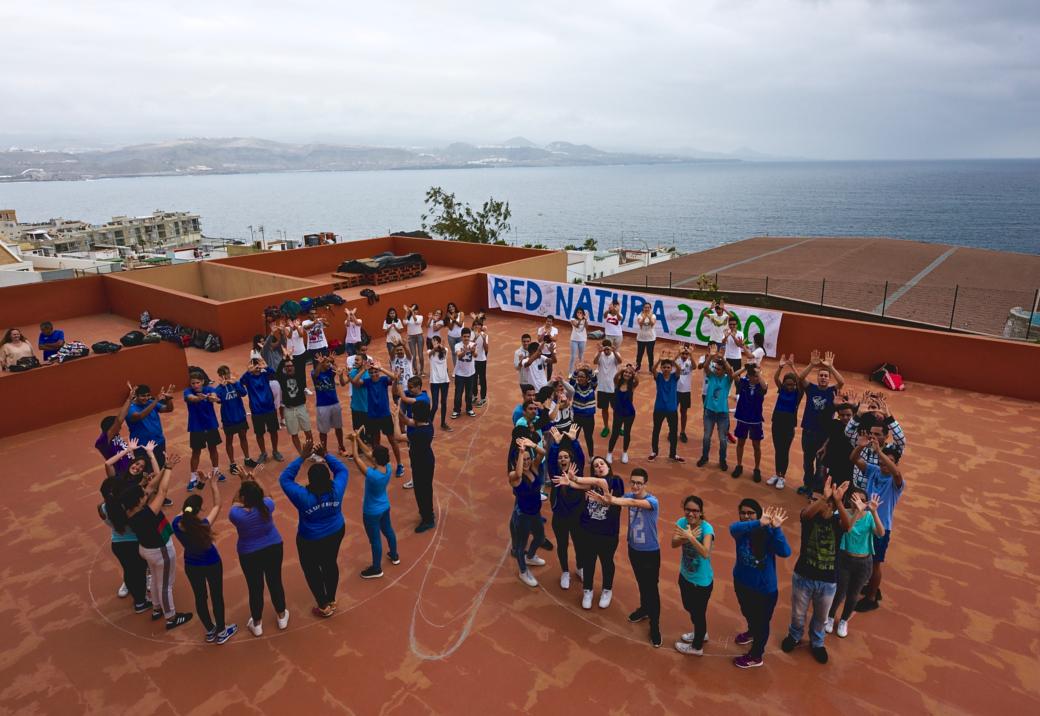 El alumnado del IES Nueva Isleta – Tony Gallardo celebra el Día Europeo de la Red Natura 2000