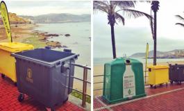 Se recogen unos 12.000 kilos de basura clasificados en origen tras la celebración de la Noche de San Juan