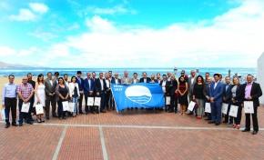Las Canteras, anfitriona en la entrega de las Banderas Azules de Canarias