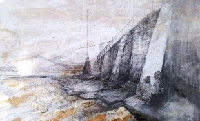 Una obra sobre Las Canteras de Rafa Moreno gana el Concurso de Pintura Rápida, ciudad de las Palmas de Gran Canaria