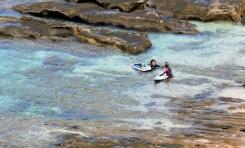 El Ayuntamiento reabre al baño la playa de El Confital después de confirmar los datos positivos de la calidad del agua