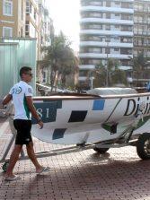 El Victoria pide el balneario abandonado de La Puntilla para los barquillos