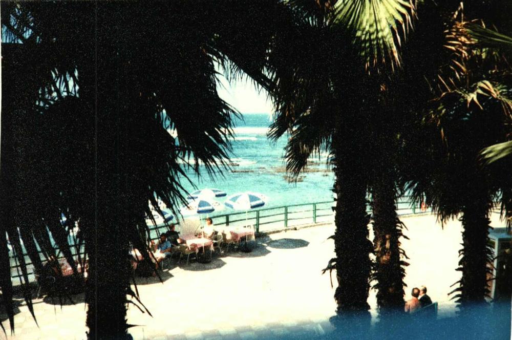 Vista de la terraza del desaparecido Restaurante El Trocadero