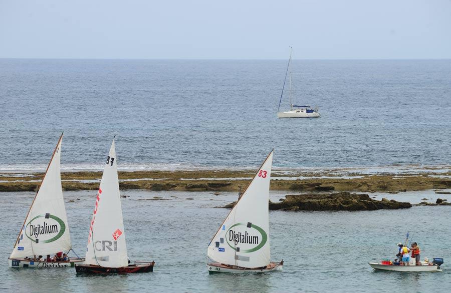 CRI Ricoh se lleva el primer Trofeo Arucas de barquillos de vela latina