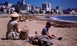 Década de los 50. Un domingo de relax