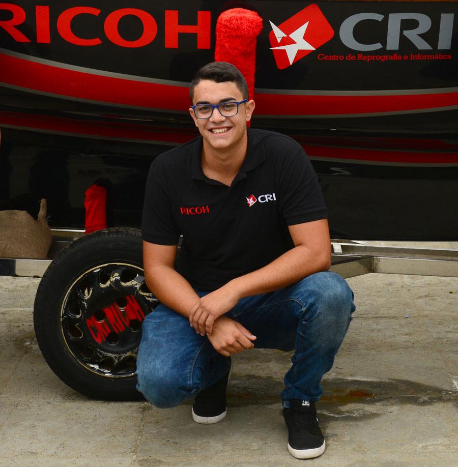 """Adrián Morales: """"El éxito del CRI Ricoh se debe al esfuerzo de todos"""""""