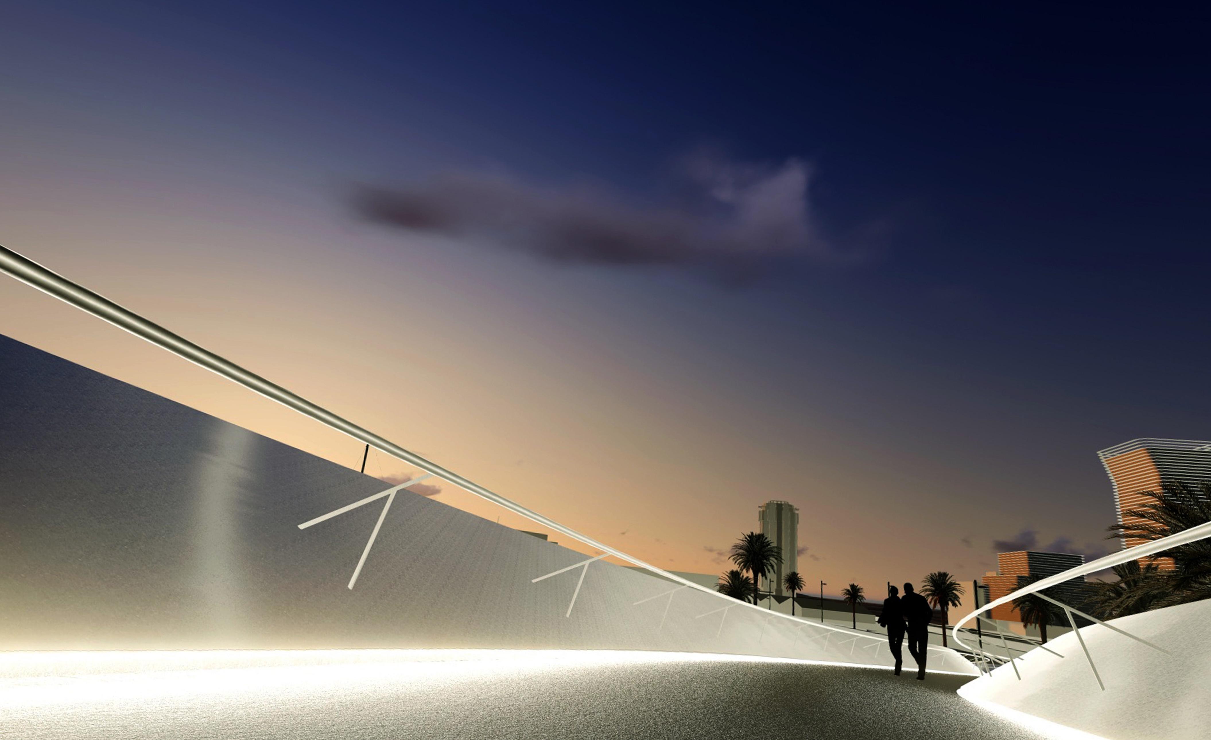 La pasarela que unirá el acuario con Las Canteras empezará a construirse en el 2017
