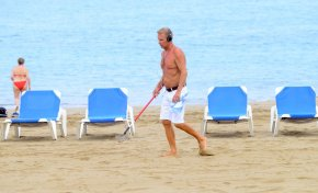 Los bañistas dejaron menos residuos en las playas de la ciudad durante el verano