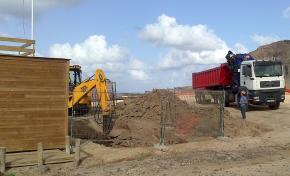 El Ayuntamiento instala un sistema de control y depuración de aguas en El Confital