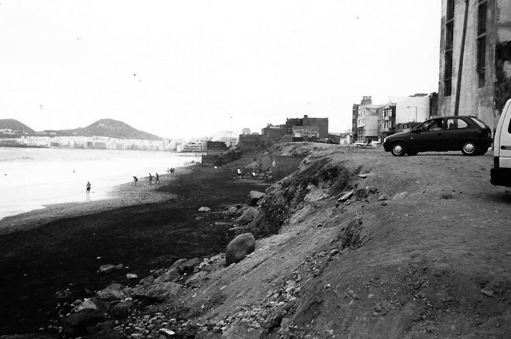 La playa de la Cicer en los años 80