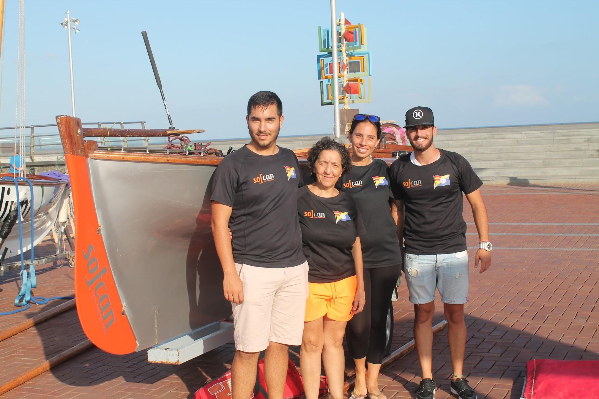 Sofcan: foto de familia de la tripulación