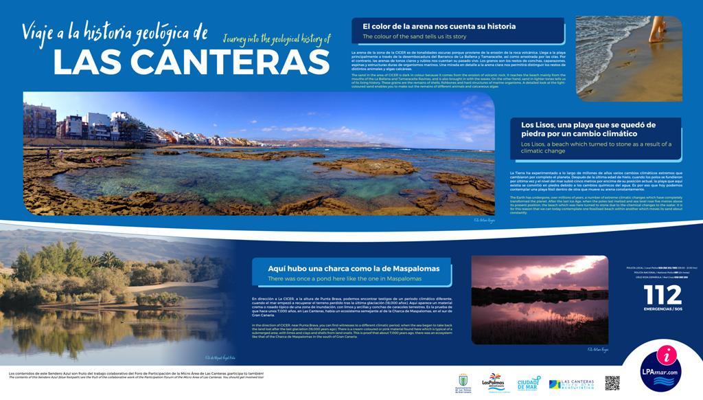 Nuevos carteles informativos crearán un sendero azul en la bahía