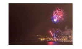 Habrá fuegos artificiales en Las Canteras para despedir el año