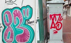 Sucios grafiteros