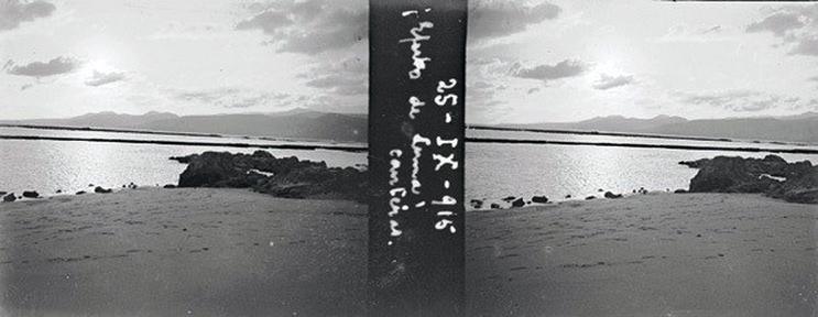 Efecto de la luna en Las Canteras. 1915