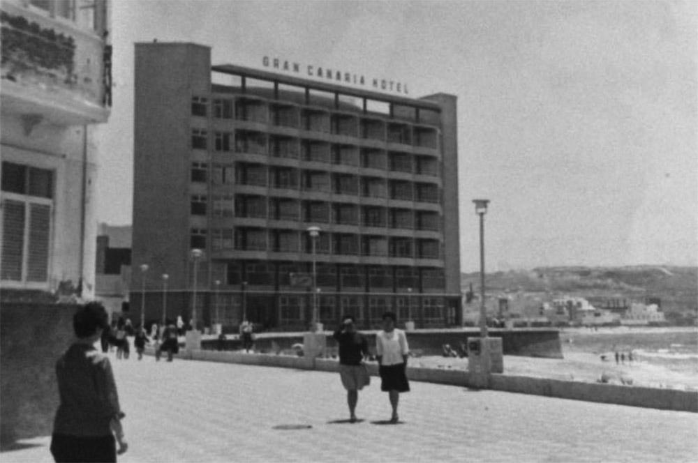 1960, en la Playa Chica
