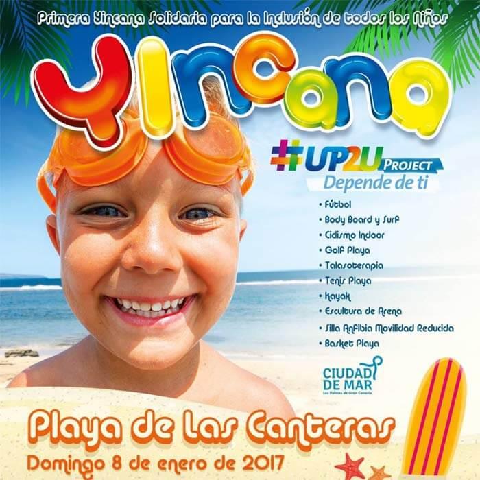 """""""Up2U-Depende de Ti"""" este domingo en Las Canteras"""