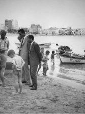 Pescado de barquillo en los años 60