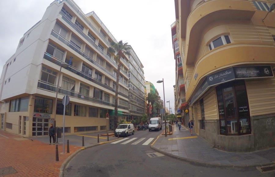 La calle Luis Morote será peatonal hasta Las Canteras a final del verano de 2018