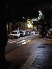 La oscuridad de las calles del puerto