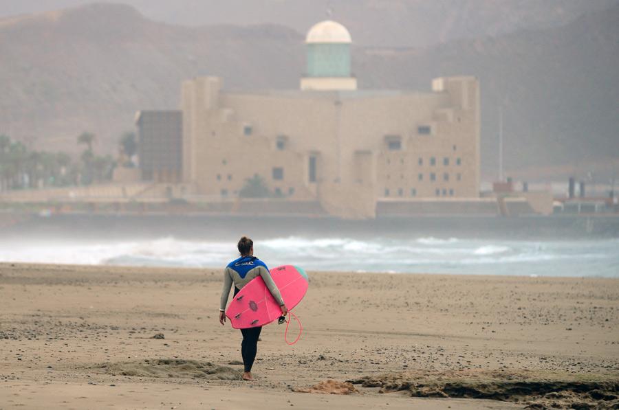 Condiciones.Tiempo. La playa hoy