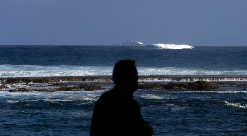 Olas grandes en la Baja Fernando