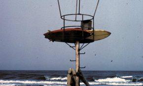 Torreta con tablas de surf