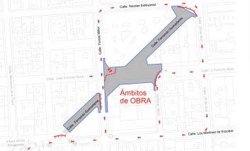Se cierra parte de la calle Fernando Guanarteme por obras de acondicionamiento