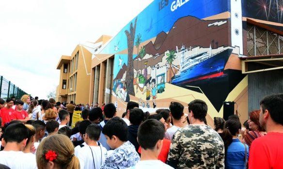 La Isleta ya tiene su mural