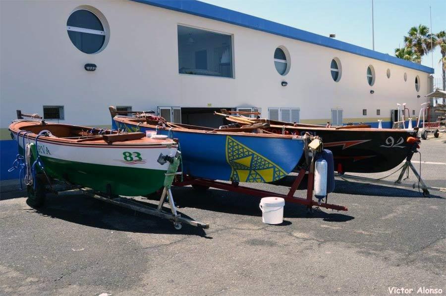 Fin de semana sin regatas de barquillos por el fuerte viento