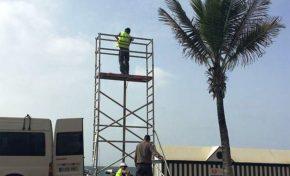 El paseo de Las Canteras estrena nuevo servicio de megafonía