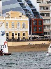 Nuestros barquillos canteranos regatearán este sábado por naciente en la regata del Día de Canarias
