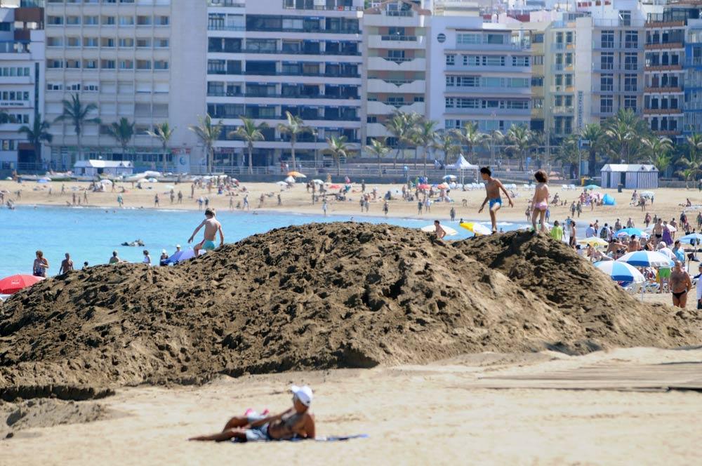 El ayuntamientoquieretrasladar arena de La Puntilla a la Cicer