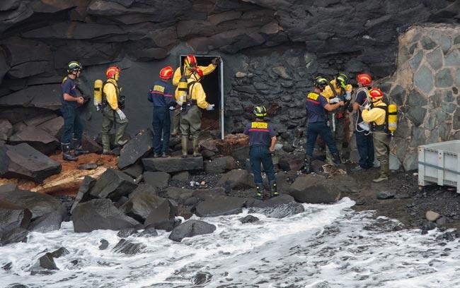 El próximo viernes los bomberos entrarán en la galería de Los Nidillos en busca de posibles focos de aguas fecales