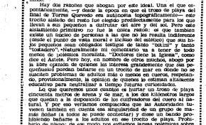 Para que la Playa Chica sea la playa de los niños (1957)