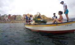 Se cumplió el tradicional paseo marinero de la Virgen del Carmen