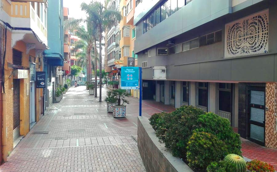 La calle peatonal casi perfecta