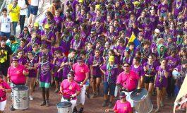3000 scouts disfrutaron de un pasacalles por Las Canteras. Fotos