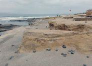 Un embolsamiento de aguas subterráneas, posible causa de la contaminación por enterococos en El Confital