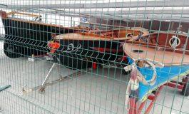 Los barquillos de vela latina regatean este sábado en Las Canteras