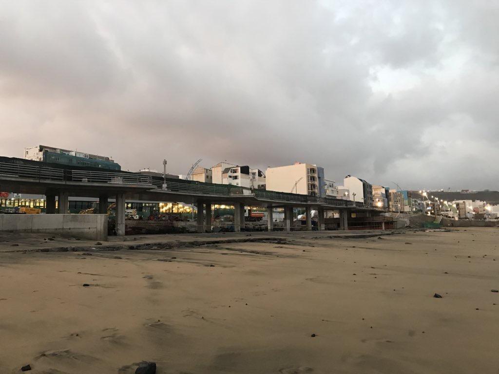¿Que hacer ahora tras el llenado natural de arena bajo la pasarela?