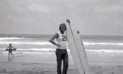 Pioneros del surf en Las Canteras