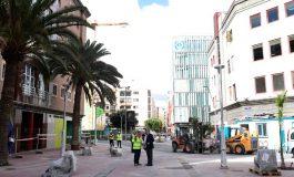 El Ayuntamiento culminará el próximo mes los trabajos de la V fase del acondicionamiento de la calle Fernando Guanarteme
