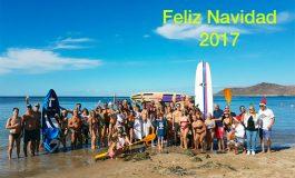 Feliz Navidad 2017 desde la orilla de Las Canteras