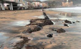 El vicepresidente del Gobierno de Canarias Pablo Rodríguez partidario de retirar los escombros bajo la pasarela